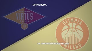 HIGHLIGHTS/ Virtus Roma - AX Armani Exchange Milano 73-79