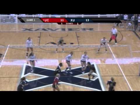 Xavier Beats Cincinnati In Volleyball Action