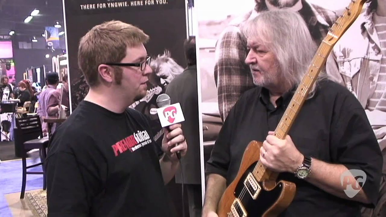 NAMM \'11 - Seymour Duncan Talks About the TeleGib and the JB and ...