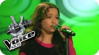 Maria Mena - All This Time (India)   The Voice Kids 2013   Blind Auditions   SAT.1