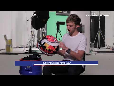 El nuevo casco de Pierre Gasly (05-02-2019) Carburando.com