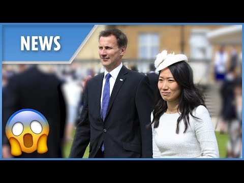 """Jeremy Hunt's """"terrible"""" gaffe about his wife in China"""