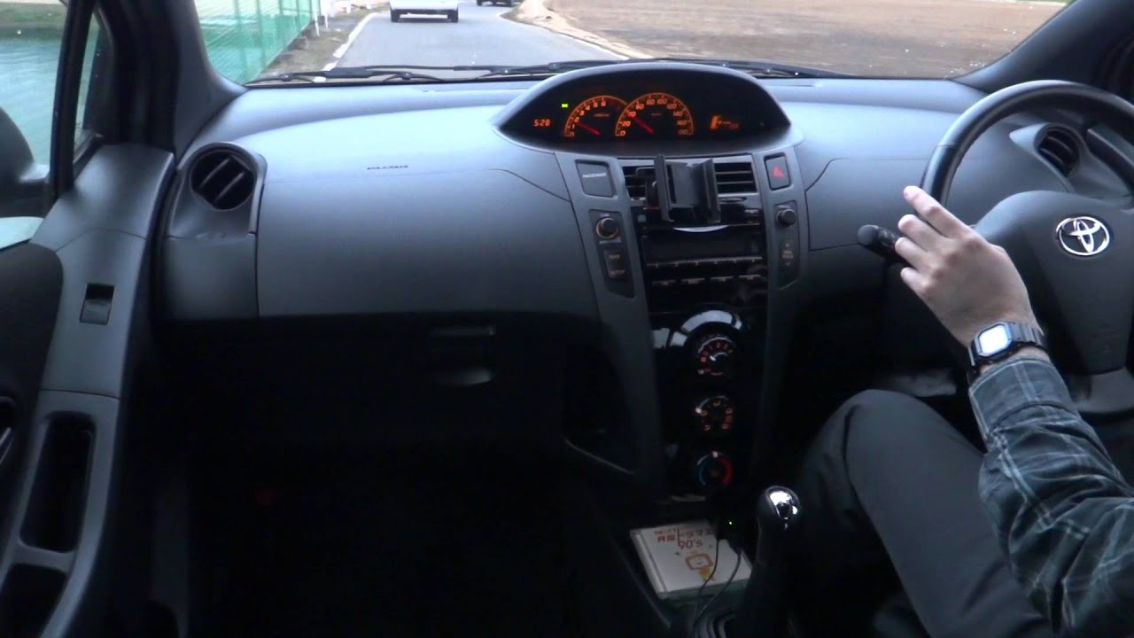 2005 Toyota Vitz Yaris 1 5 Rs Youtube