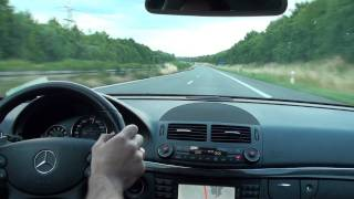 Mercedes E 63 AMG 0-250 km/h