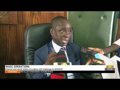 Internet and social media circulation still challenge to WASSCE - Adom TV News (15-9-21)