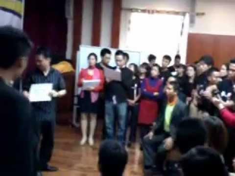 Tổ chức trao thưởng liên hoan, tiệc cuối năm tại Văn Minh Resort- Hà Nội