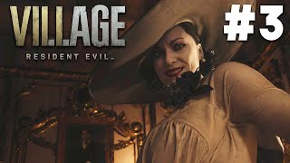 RESIDENT EVIL VILLAGE Gameplay Walkthrough Part 3 - LADY DIMITRESCU - PS5 4K 60fps (Resident Evil 8)