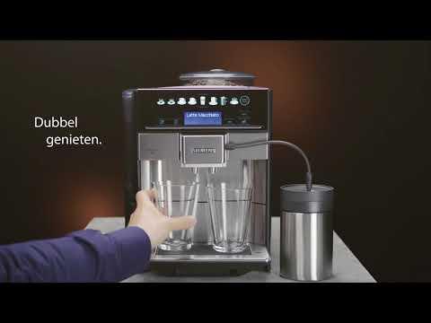 Siemens EQ.6 plus espresso volautomaat: De perfecte koffie met een persoonlijke touch