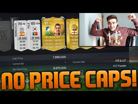FIFA 15 - NO MORE PRICE RANGES!?! EA Removing Price Caps From Fifa 15 Ultimate Team?