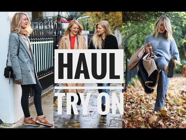 HAUL d'automne 🍂 ┆TRY ON ┆📍LONDON