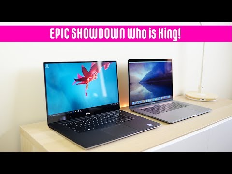 MacBook Pro 2018 Vs XPS 15 9570 Review - Which Is The Best 15 Laptop In 2018 Coffee Lake 8th Gen