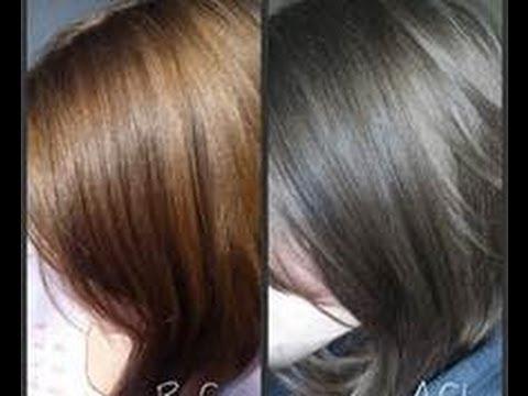 reverse gray hair youtube