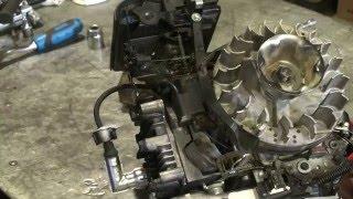 Снятие гнутого вала с двигателя газонокосилки(, 2016-04-02T18:57:52.000Z)