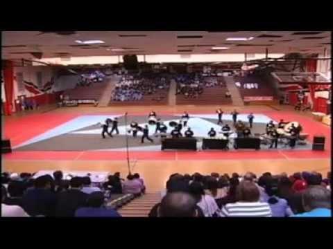 Faye Ross Middle School Drumline Show FORWARD 2012
