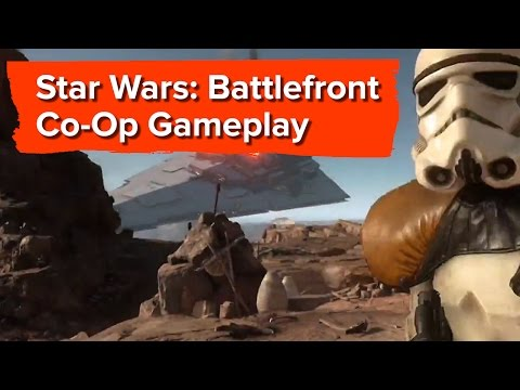 Star Wars Battlefront Gameplay - E3 2015 Sony Conference - Co-op Missions and that