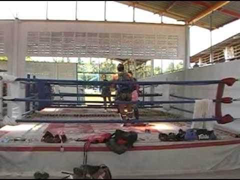 Fun Sparring at Ao Nang Thai Box Gym4