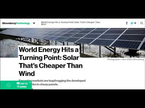 Solar Is Now Cheaper Than Coal, Wind, Or Natural Gas To Generate Electricity