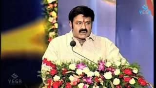 N Balakrishna Emotional  Speech @ B. Nagireddy Smaraka Puraskaram