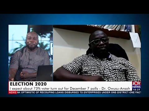 Election 2020 - UPfront on Joy News (12-8-20)