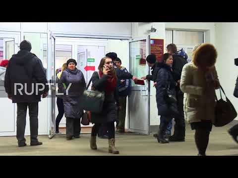 Russia: Izhevsk school sheltering residents from collapsed building evacuated due to bomb threat
