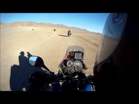 XT 660z - Ténéré - Trip América do Sul - 2013 - Chile - Antofagasta - La Mano Del Desierto