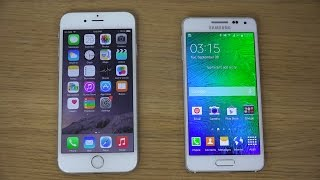 iPhone 6 vs. Samsung Galaxy Alpha - Review (4K)