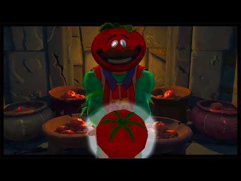 The Legend of Tomato Temple and the mysterious Cube   Fortnite short film