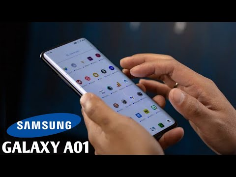 samsung galaxy a01 unboxing and full hands on review