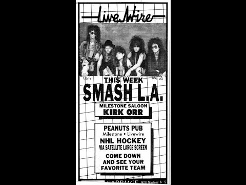 Smash LA Live Wire Jan 1992