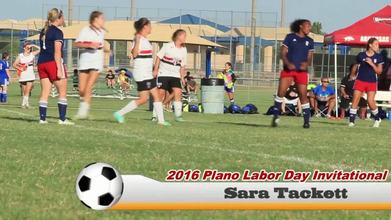 Sara Tackett 2016 Plano Labor Day Invitational Club Highlights