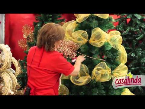 Decora tu rbol con casalinda youtube - Como poner el arbol de navidad ...