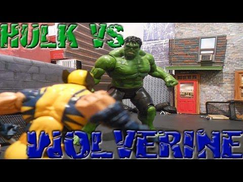 Hulk vs Wolverine Behind The Scenes