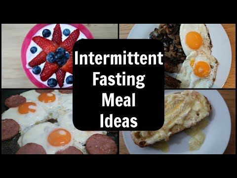 7 Intermittent Fasting Meals & A Snack
