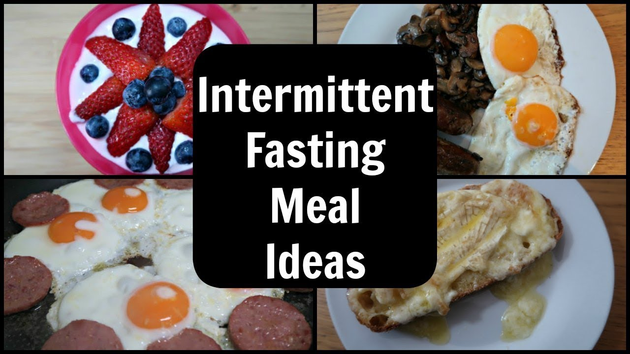 Intermittent Fasting Meals Meal Plan For 16 8 Intermittent Fasting