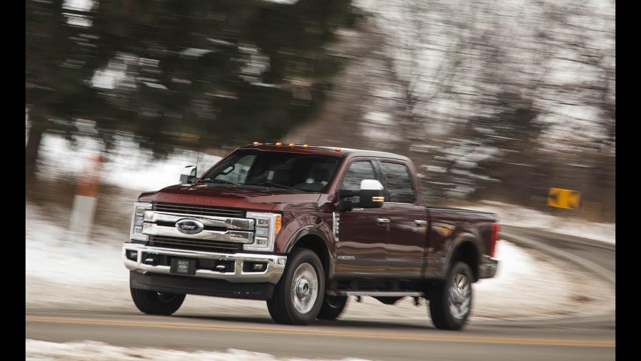 Ford F  Super Dutysel Towing Capacity Platinum Interior