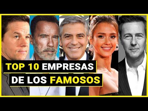 10 Famosos que Triunfaron con sus Empresas 🌟
