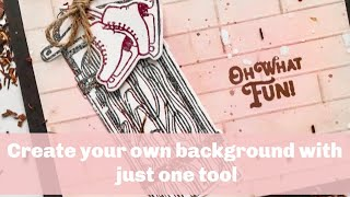 Create your own background with just one tool!!