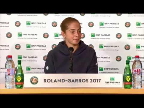 Jelena Ostapenko Roland Garros 2017 Champion Press Conference