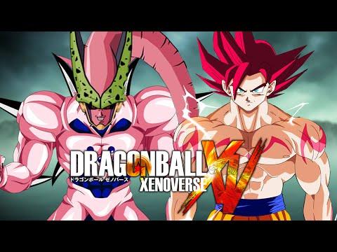 Omega Cell Buu VS Demon God Goku | Dragon Ball Xenoverse MODS (Duels)