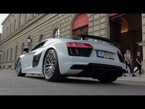 Ride in a Audi R8 V10 Plus + Carporn + StartUp + Revs + Tunnel + Acceleration + Highway