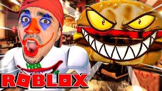 البرغر الشرير في روبلوكس - ROBLOX