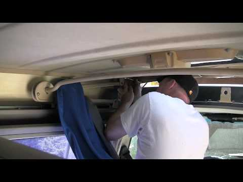 & Vanagon Westfalia Tent Install with the top on - YouTube