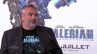 Luc Besson Et Valerian And The City Of A Thousand Planets