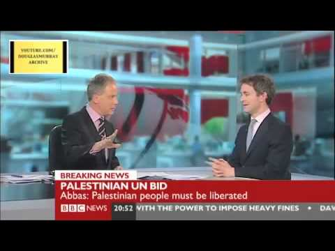 "Douglas Murray on Palestinian UN Bid ""Attempts to Rewrite History"""