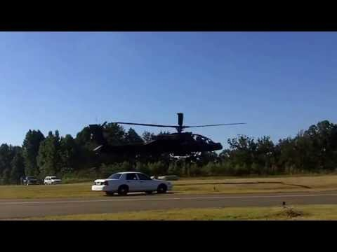 Apache & Black Hawk Helicopters @ Pickens County Airport