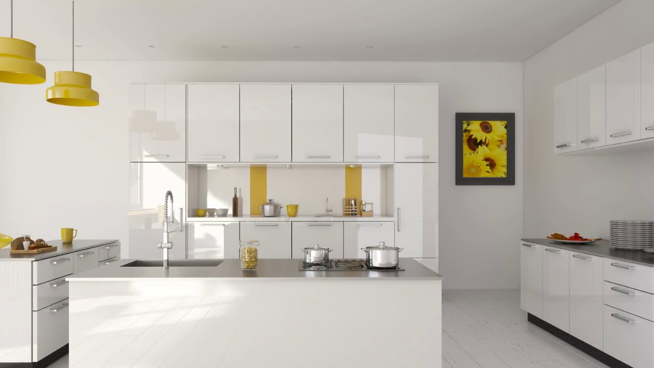 Prestige Modular Kitchen Designs in India - YouTube