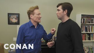 "Nicholas Braun From ""Succession"" Wants To Be Conan's Sidekick - CONAN on TBS"