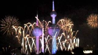 Kuwait Towers Sparkle 1/2