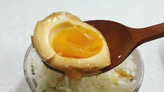 초간단 반숙 계란장 : 간단요리 계란요리 : Egg w…
