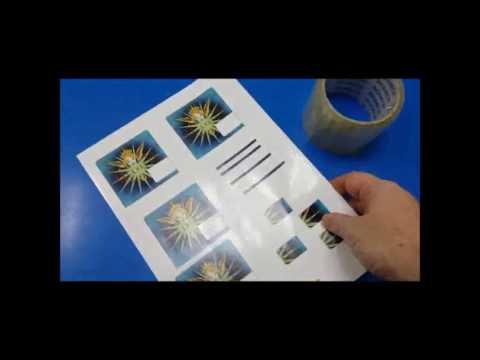 Making Minidisc labels